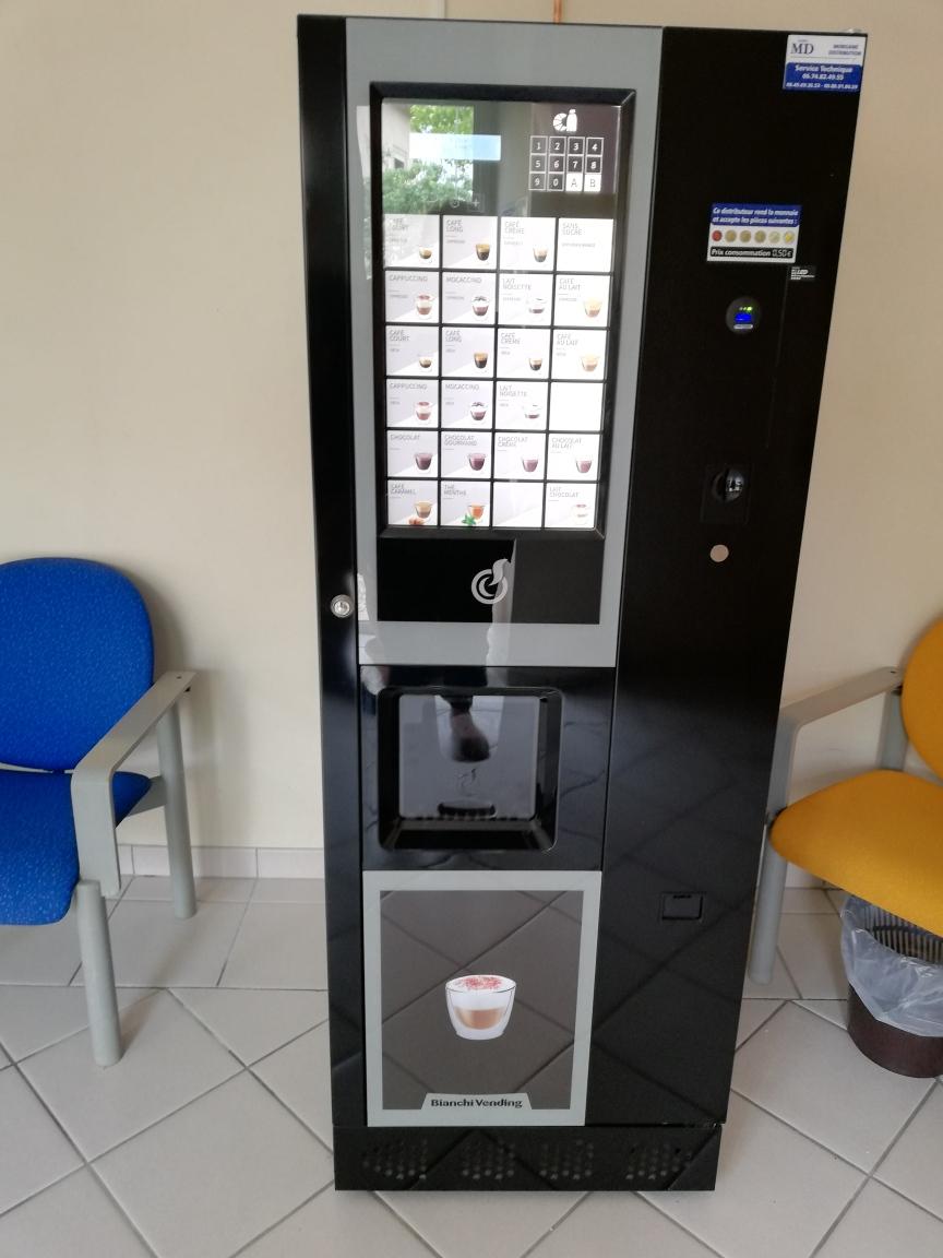 Nouveauté : machines à boissons chaudes